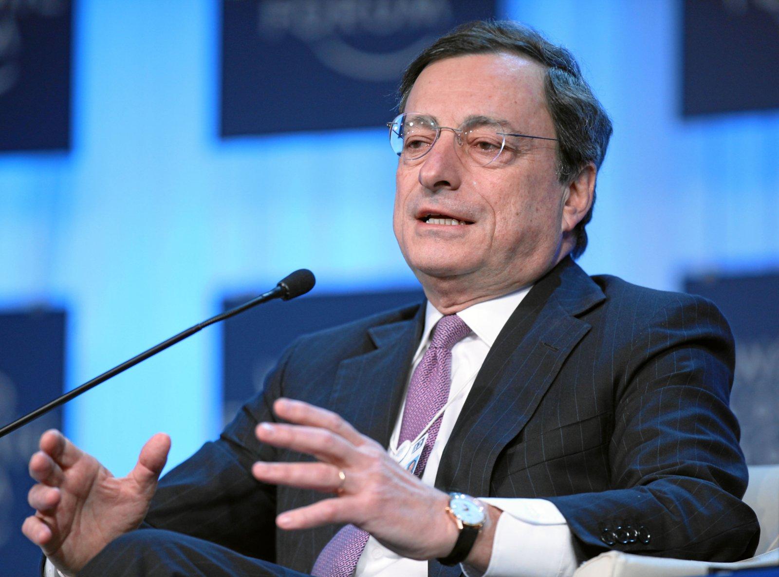 Марио Драги президент ЕЦБ