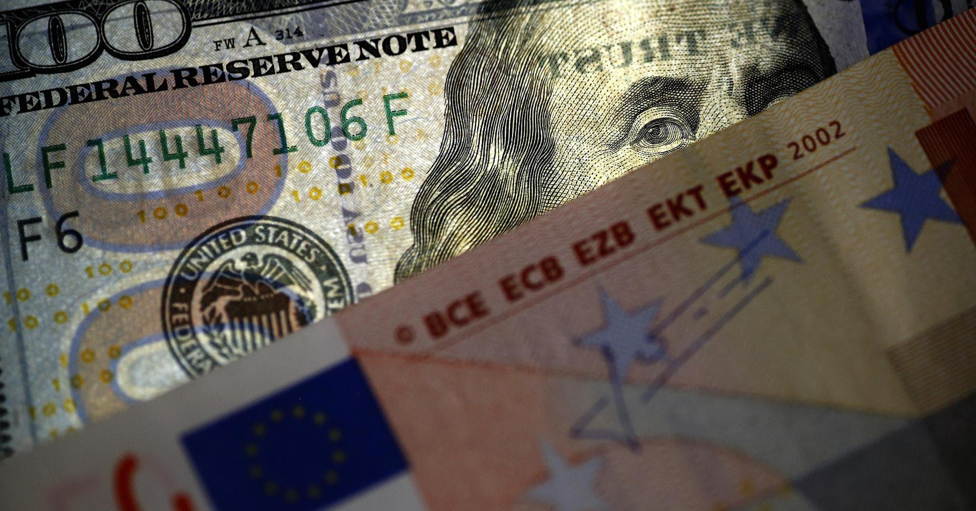 Евро к доллару форекс