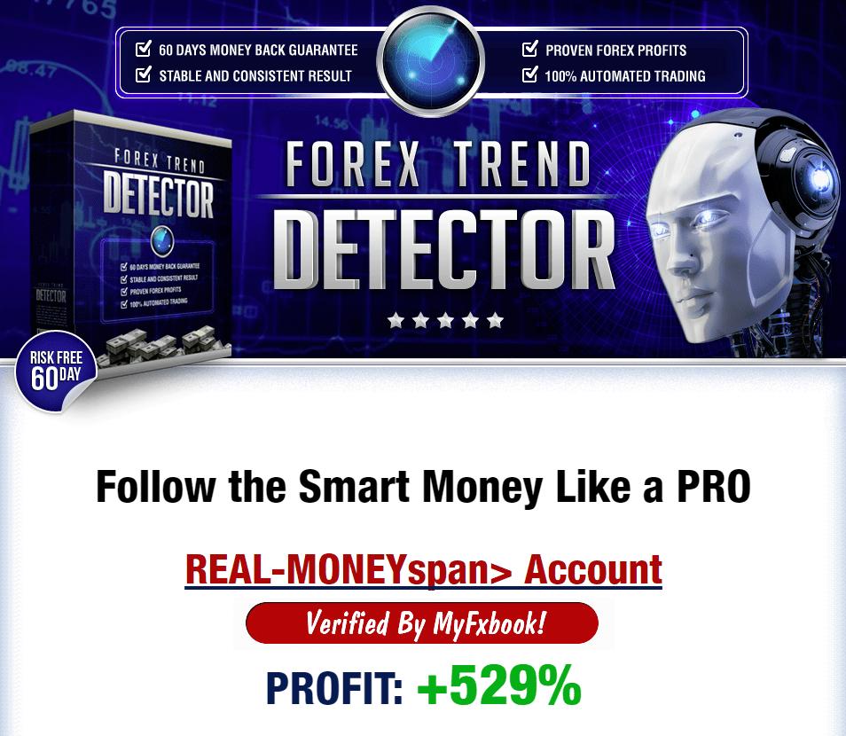 FOREX TREND DETECTOR +529%