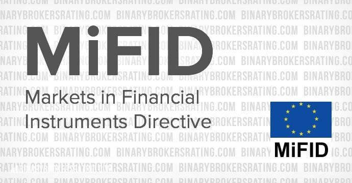 История создания директивы MiFID