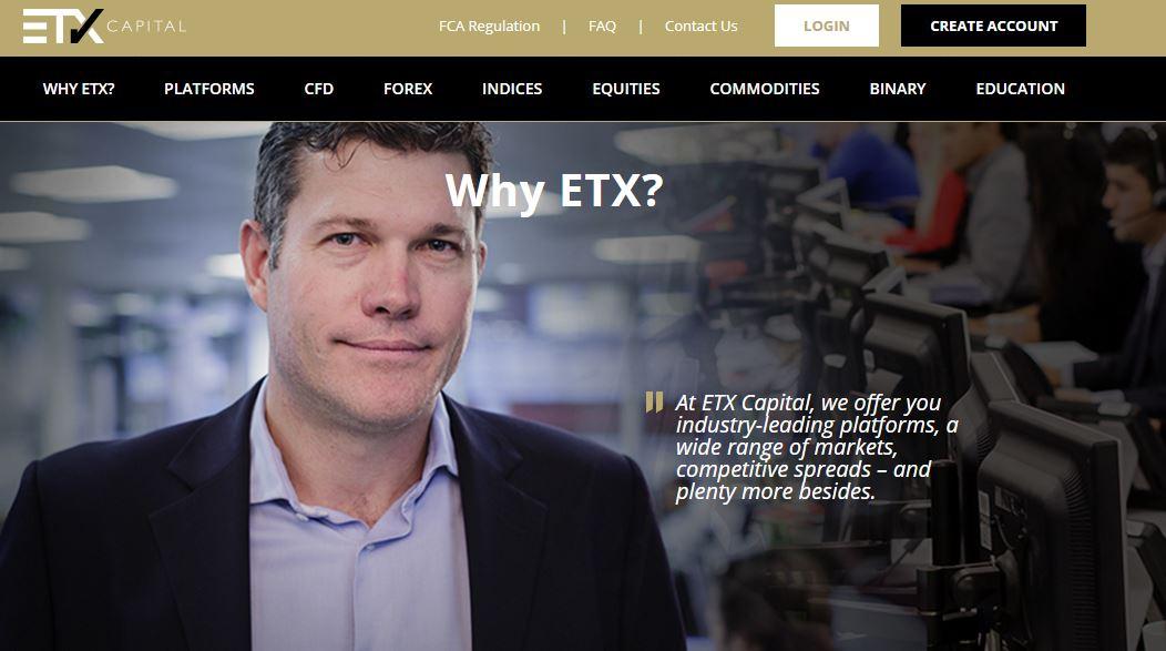 Брокер ETX Capital