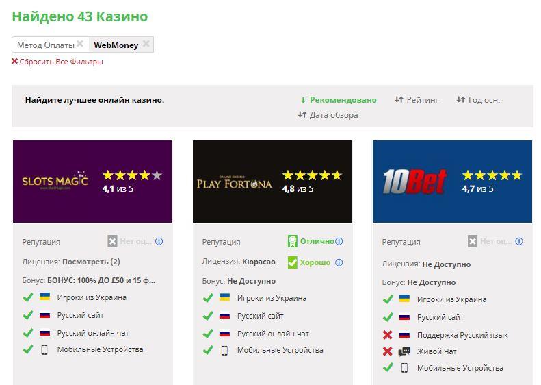 как проверить онлайн казино на честность