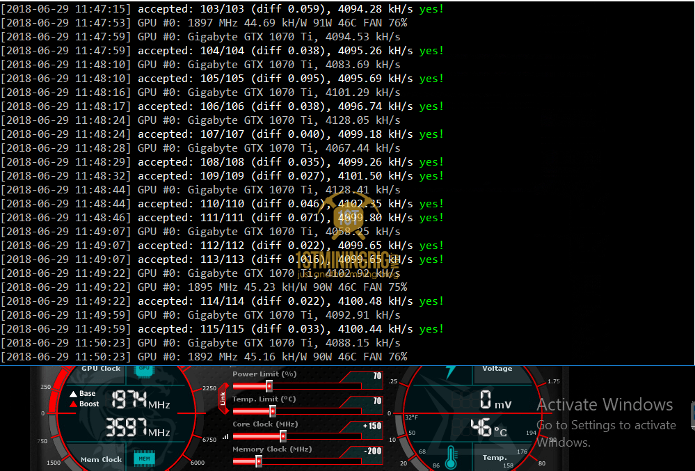 1070 or 1080 ti for mining