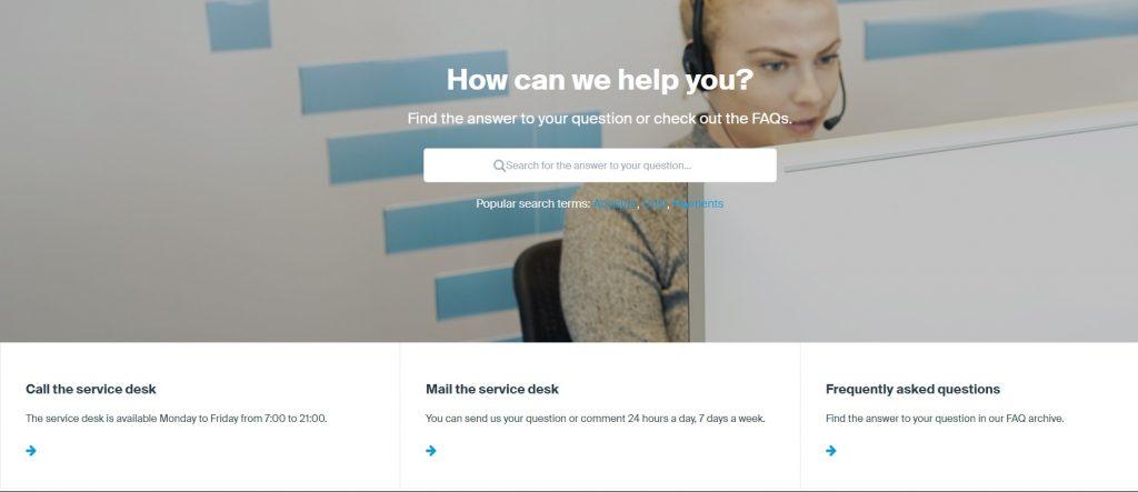 Обзор DEGIRO –поддержка клиентов