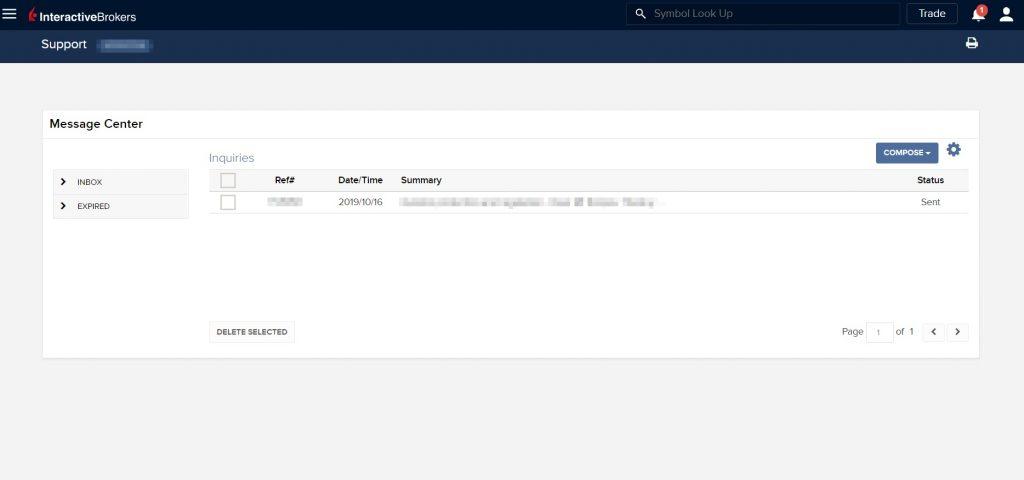 Обзор Interactive Brokers –поддержка клиентов