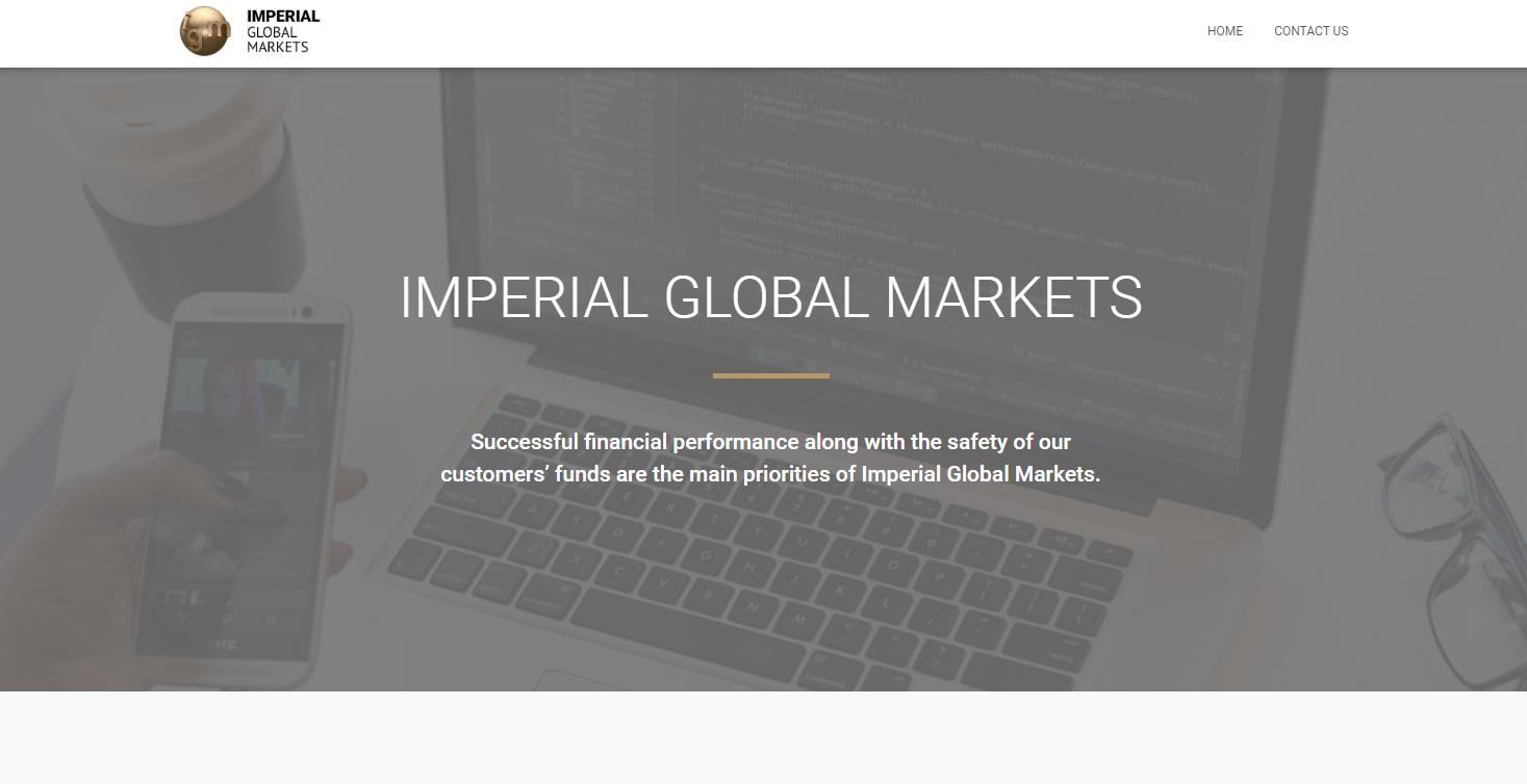 Обзор брокерской компании Imperial Global Markets